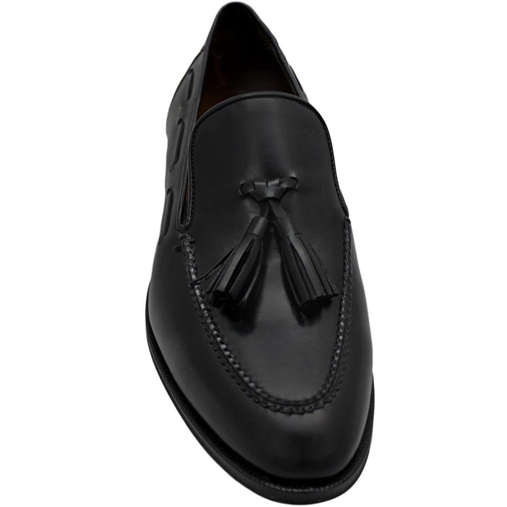 Sapato Masculino Tassel Loafer cor Preto 716CRPRE