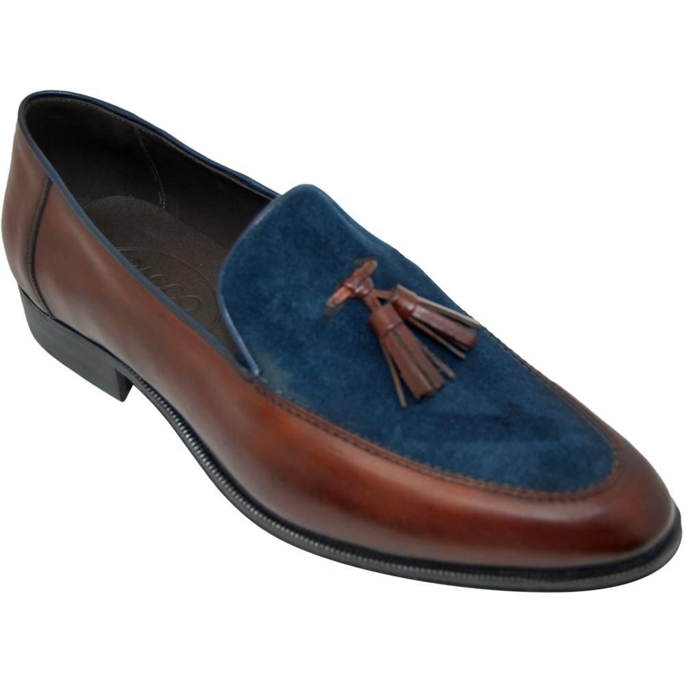Sapato Masculino Tassel Loafer 2 cores 018BICMOG