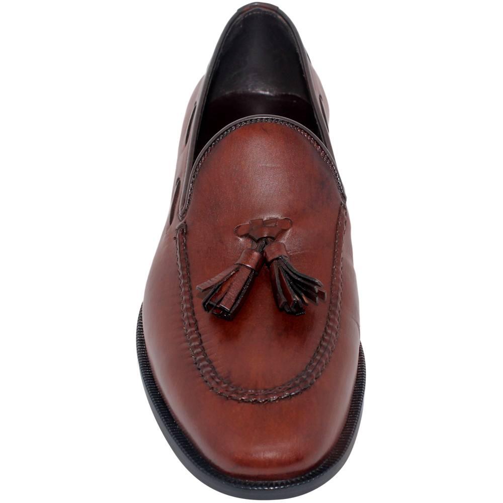 Sapato Masculino Tassel Loafer cor Mogno 019CMMOG