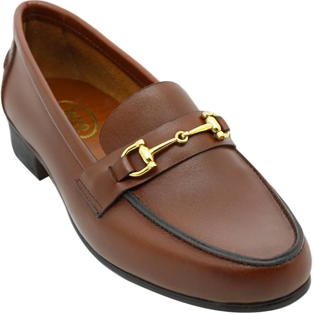 Sapato Feminino Mocassim Argentino cor Pinhão 011BDPIN Glória