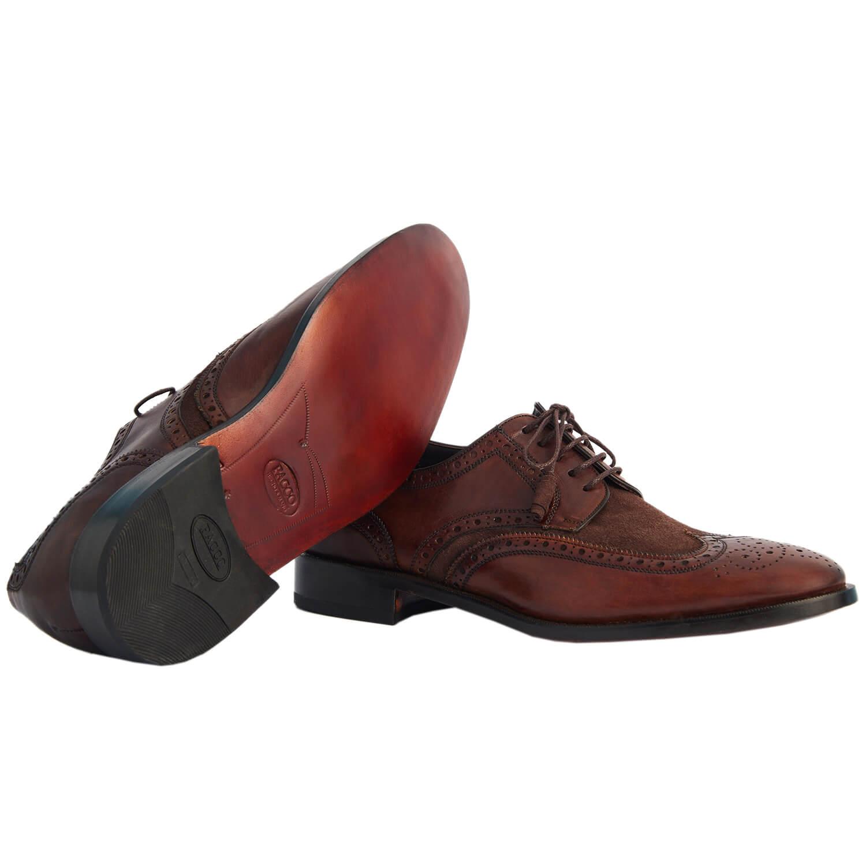 Sapato Masculino Brogue 2 cores 2100BIC02 Wellington