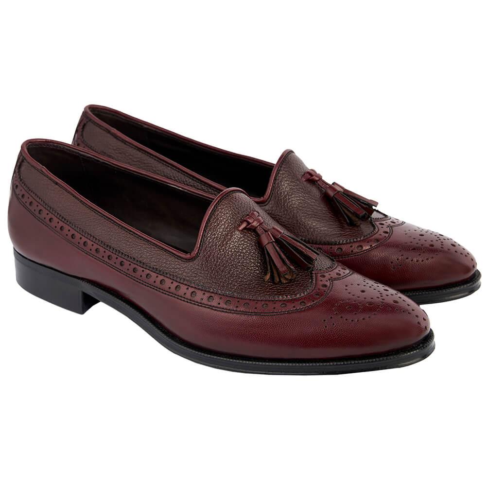 Sapato Masculino Brogue Longwing Tassel 225VIN Scott