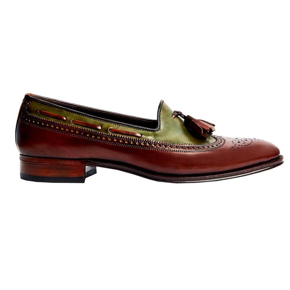Sapato Masculino Brogue Longwing Tassel 2 cores 225BIC01