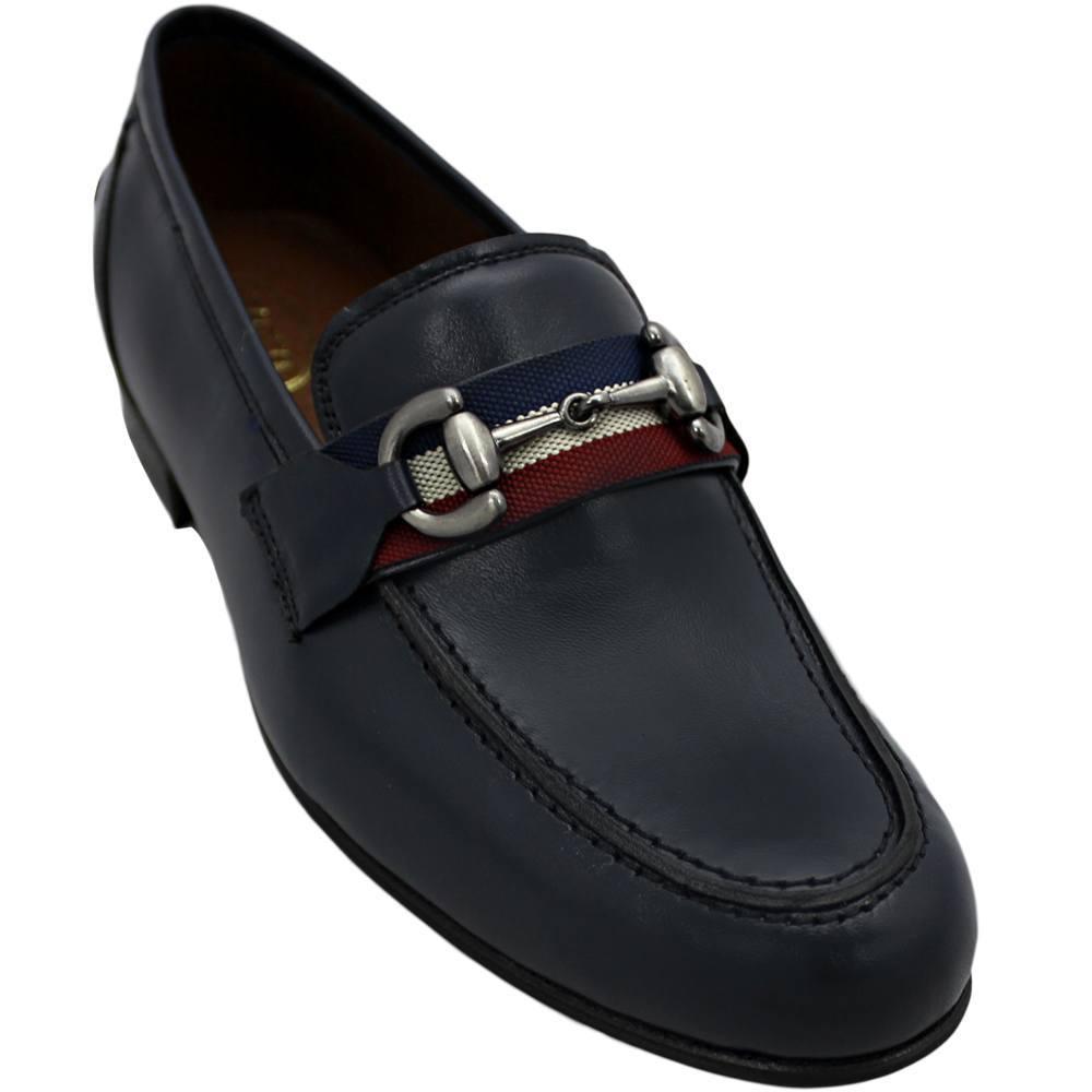 Sapato Masculino Casual Cor Azul Marinho 044BDAZU