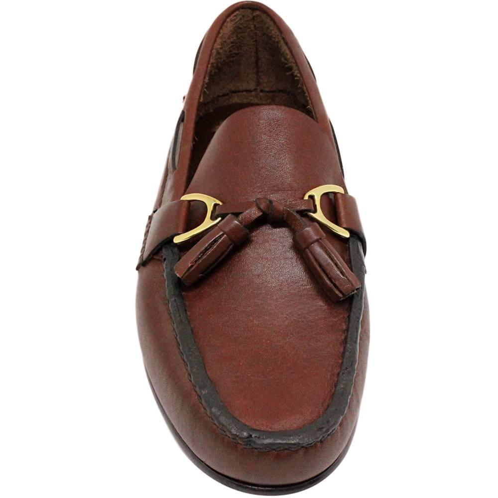 Sapato Masculino Mocassim Argentino cor Pinhão 066PGPIN
