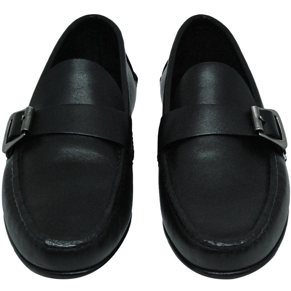 Sapato Masculino cor Preto Estilo Argentino 066FNPRE
