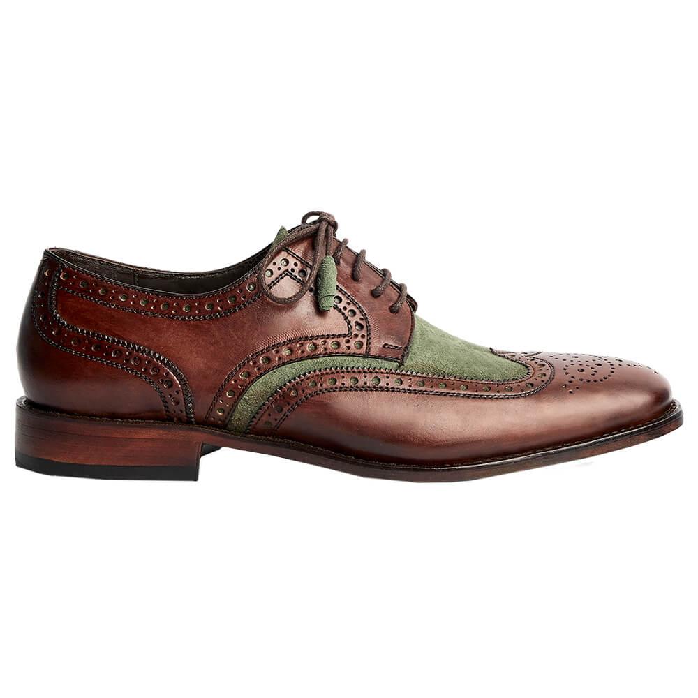 Sapato Masculino Derby Brogue 2 cores 2100BICMGR