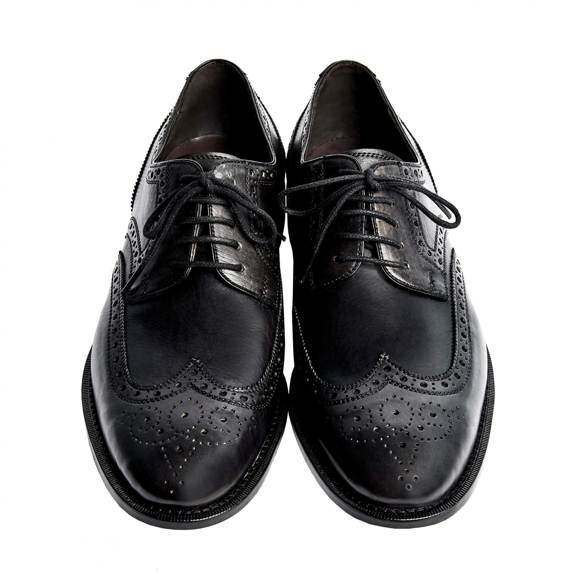Sapato Masculino Derby Brogue cor Cinza Grafite 2100GRAF Wellington