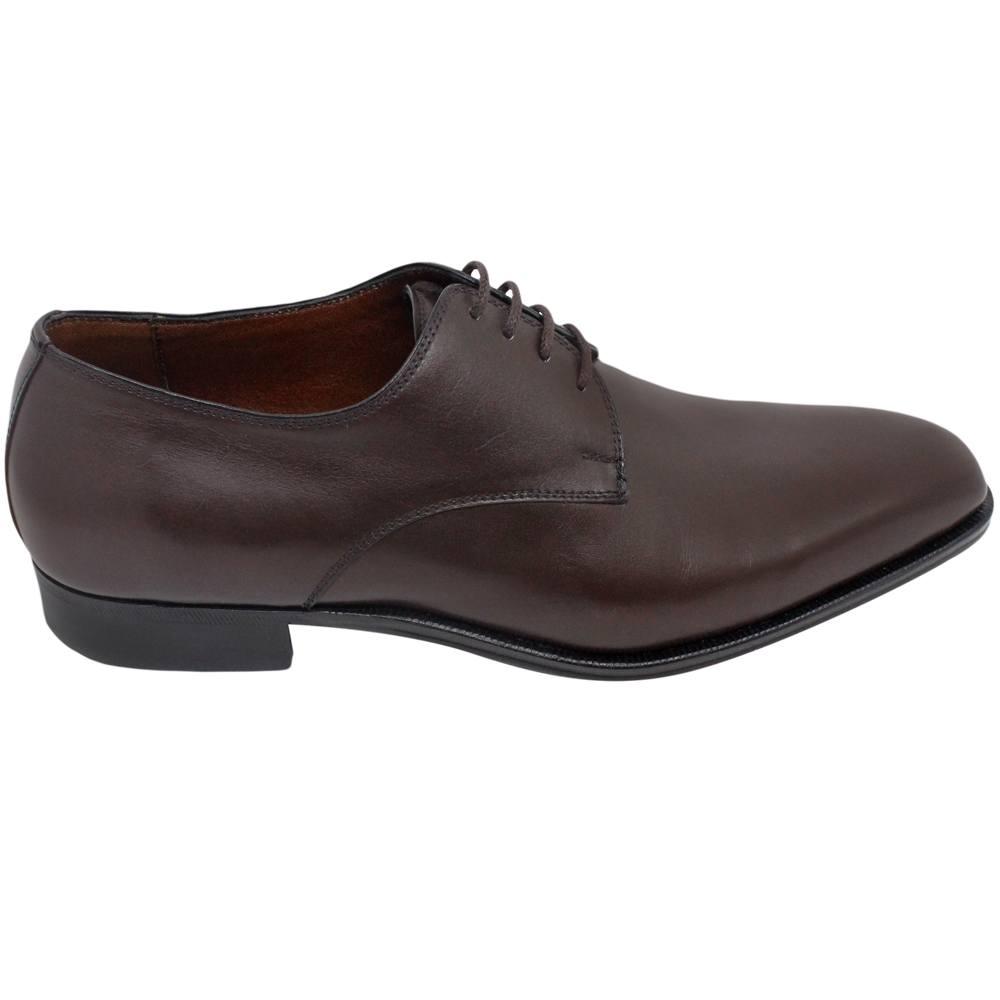Sapato Masculino Derby Marrom Café 303LCRCAF