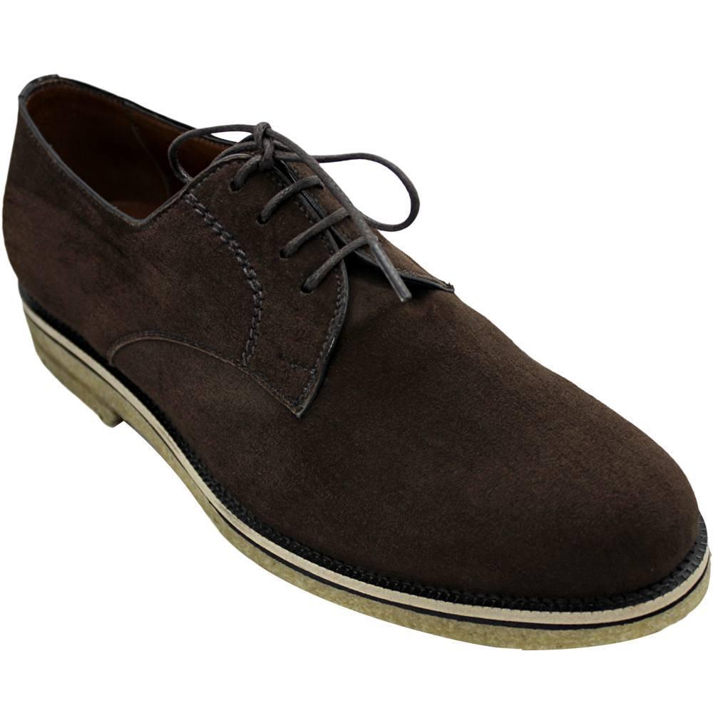 Sapato Masculino Derby Camurça 303 Vicenzo
