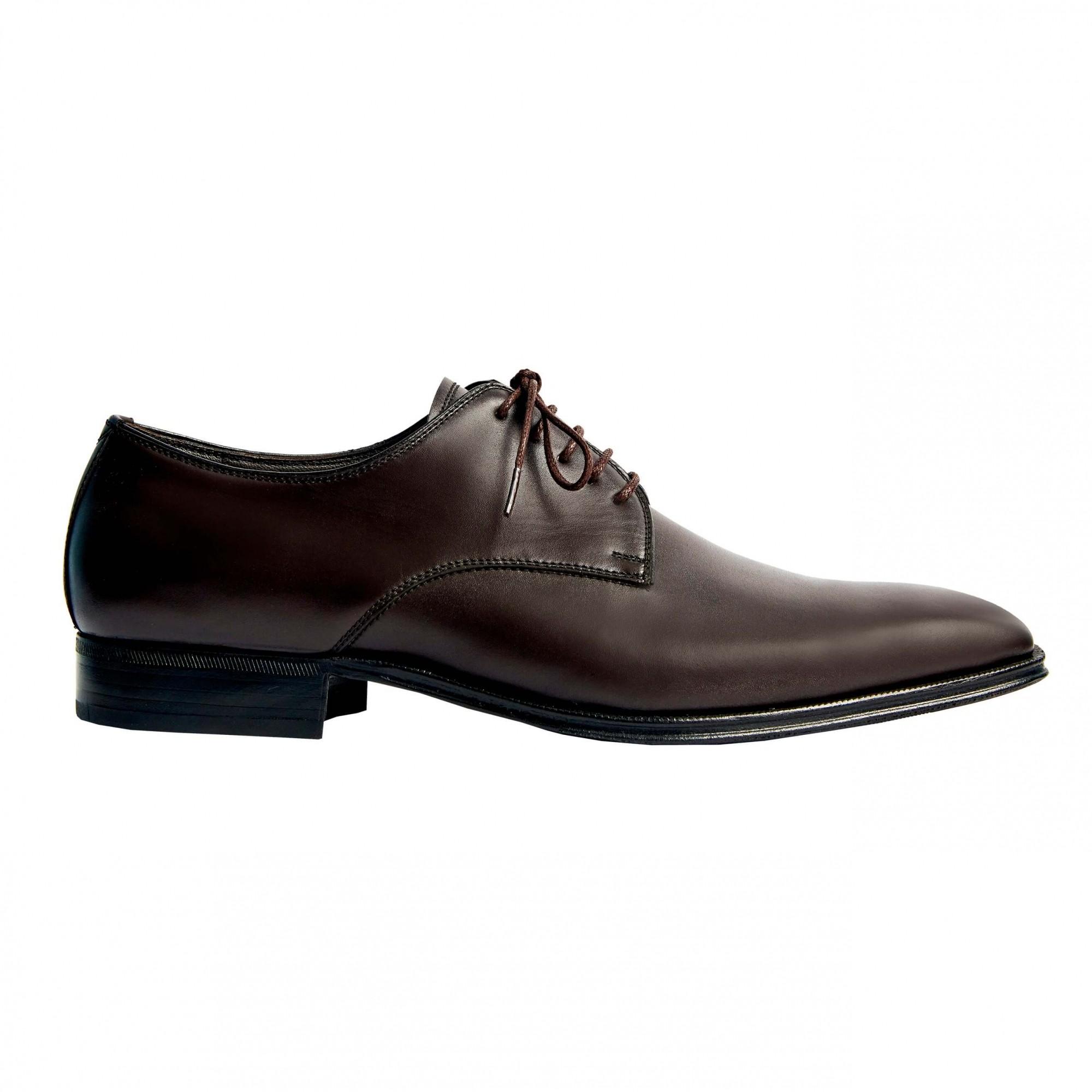 Sapato Masculino Derby Social Marrom Café 2070LCAF Pietro