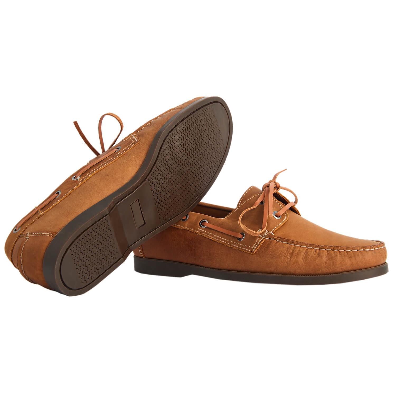 Sapato Masculino Dockside cor Tan 00250TAN