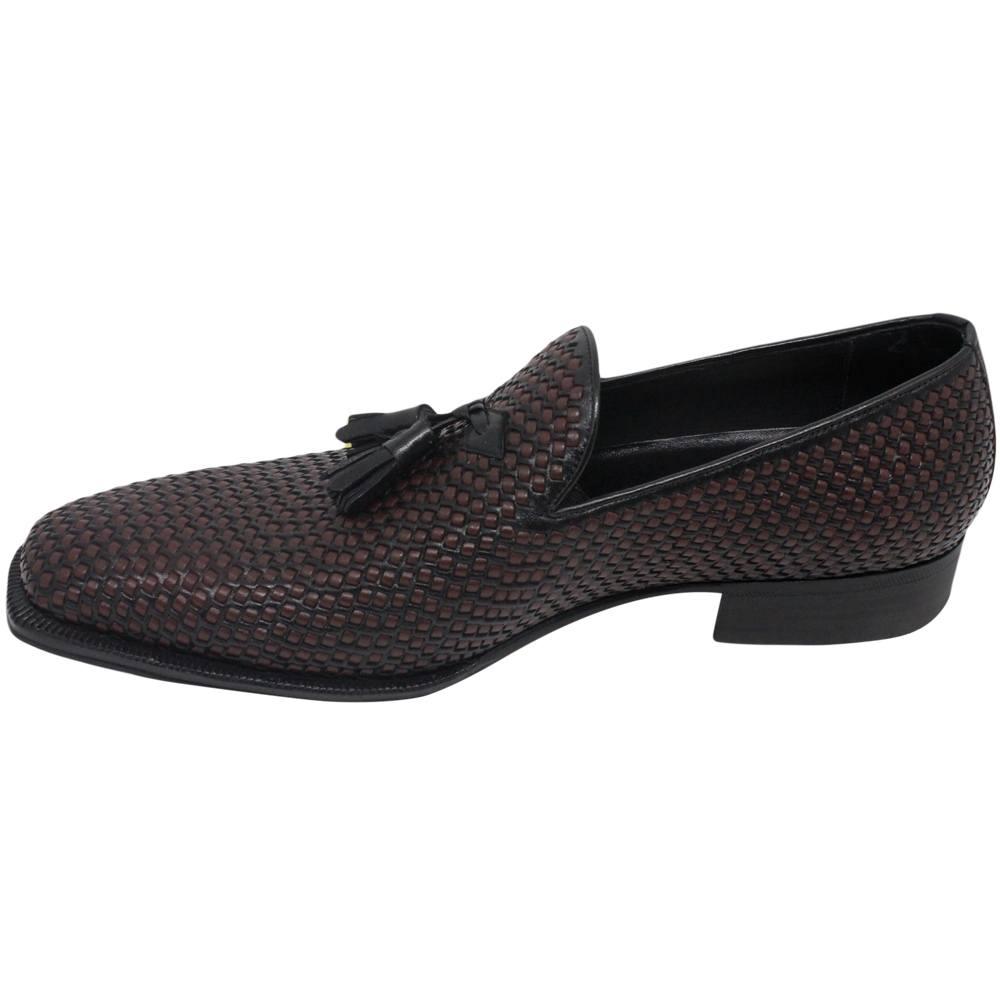 Sapato Masculino em Tresse Manual 2 Cores 019TRBICPRE Enzo