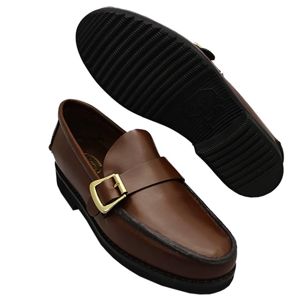 Sapato Masculino estilo Argentino Sola de Borracha Importado 066FVIBCAS