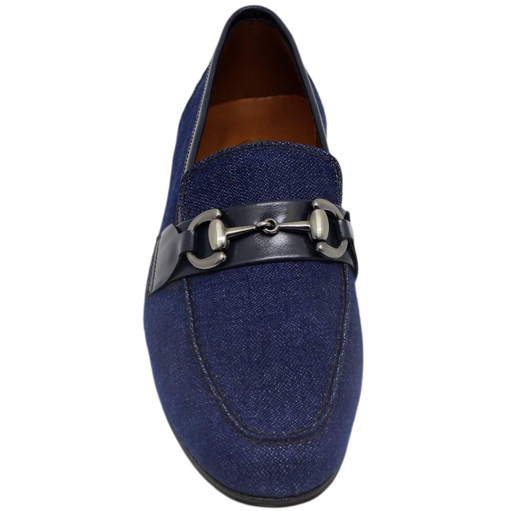 Sapato Masculino feito em Jeans 044BDJEA