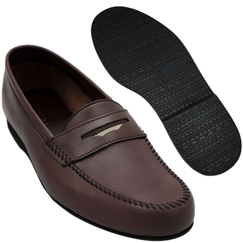 Sapato Masculino Flexível Esportivo cor Marrom 064MAR