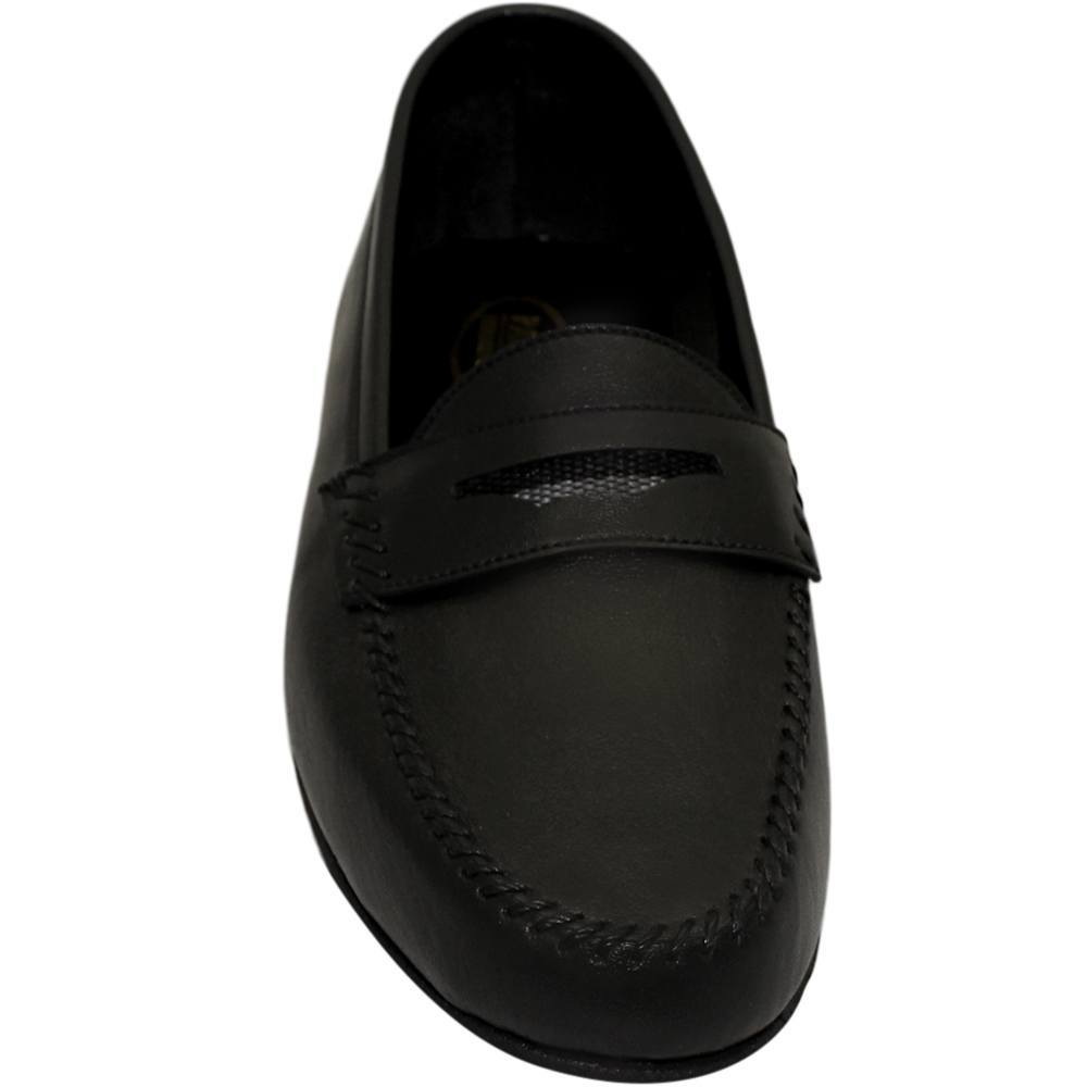 Sapato Masculino Flexível Esportivo cor Preto 064PRE