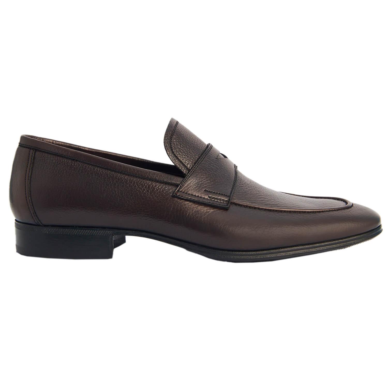 Sapato Masculino Loafer Confortável cor Marrom Café  996MCAF Confort