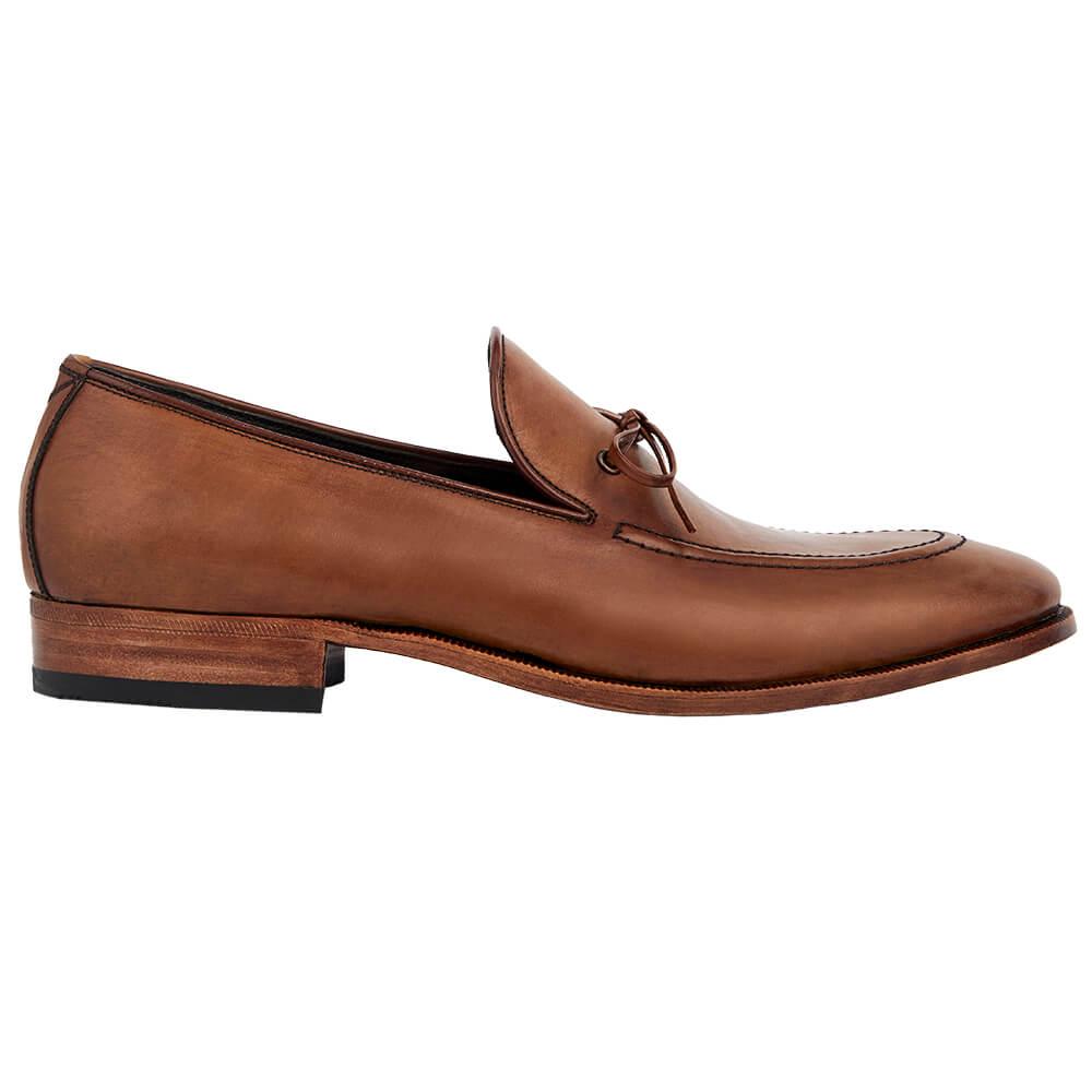 Sapato Masculino Loafer cor Avelã 1090AVE Lace