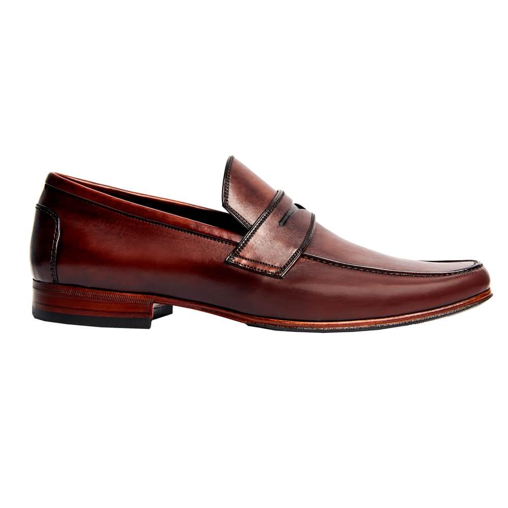 Sapato Masculino Loafer Cor Mogno 111M000MOG