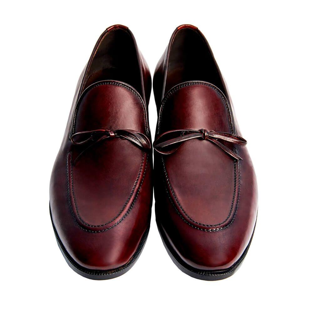 Sapato Masculino Tassel Loafer cor Vinho 1090LAÇOVIN