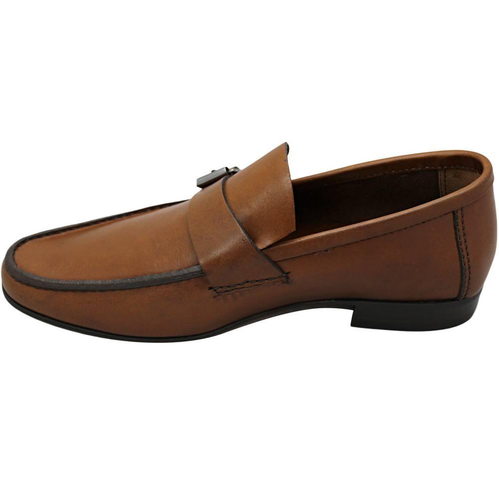 Sapato Masculino Mocassim Bico Alongado 666FCAS