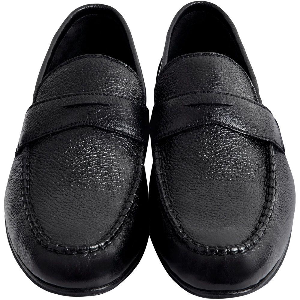 Sapato Masculino Mocassim Casual Super Macio Preto 050CMPRE