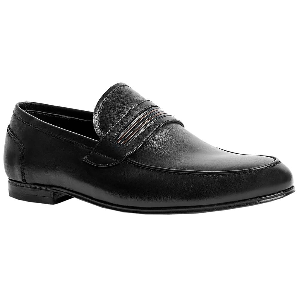 Sapato Masculino Mocassim Casual em couro de Cabra macio 050BICPRE