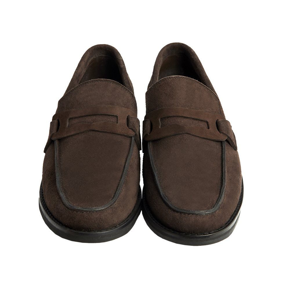Sapato Masculino Mocassim Penny Loafer Marrom Café 111MBCAMCAF