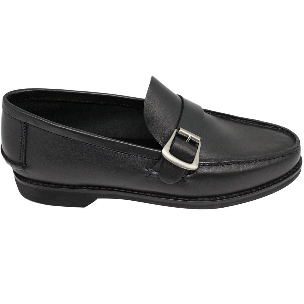 Sapato Masculino Mocassim estilo Argentino cor Preto 066FBPRE