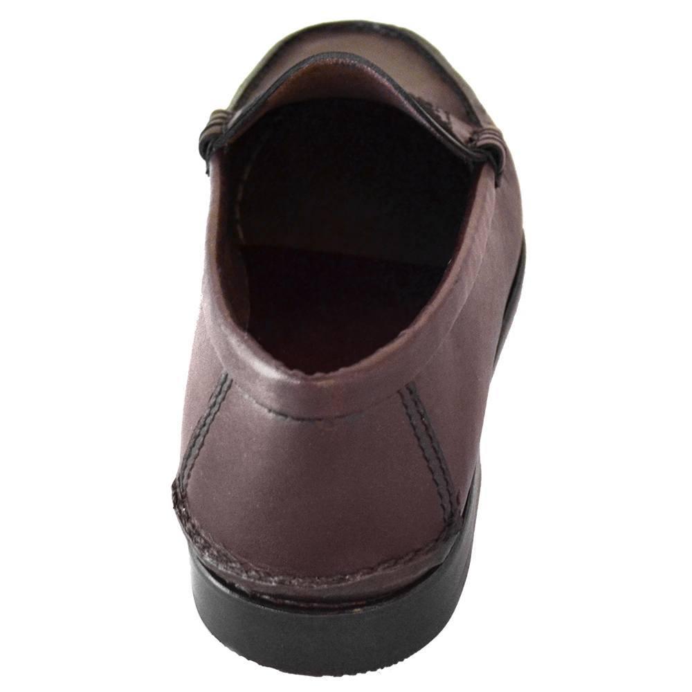 Sapato Masculino Mocassim Vinho Escuro 066MNVIN
