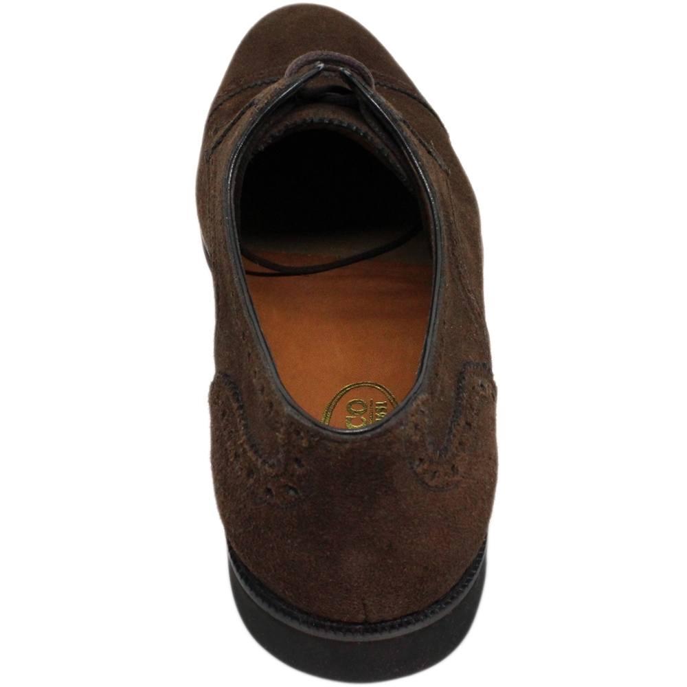 Sapato Masculino Derby Cap Toe em Camurça 302CAMCAF Ignácio