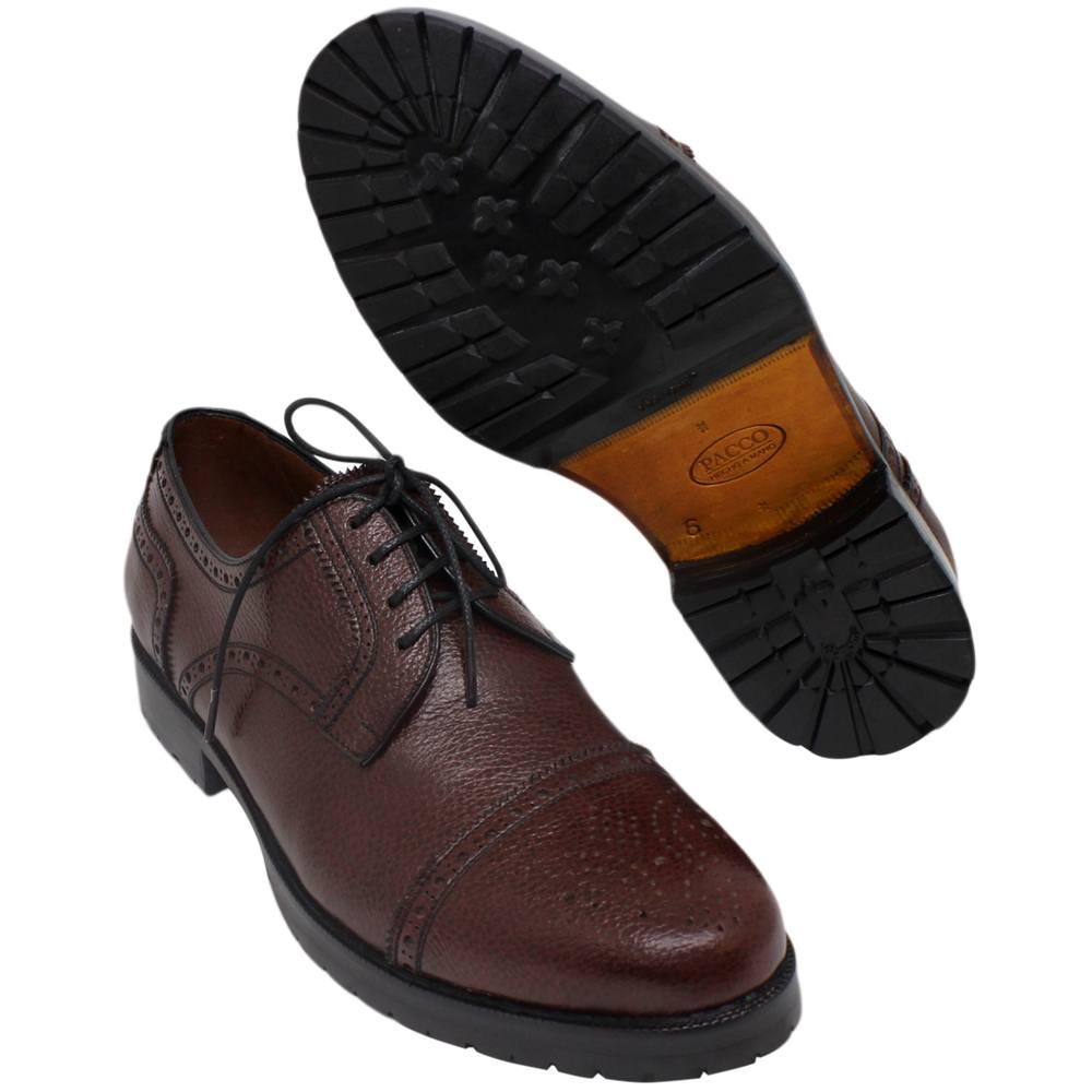 Sapato Masculino Derby Half Brogue 302GRPIN Ignácio