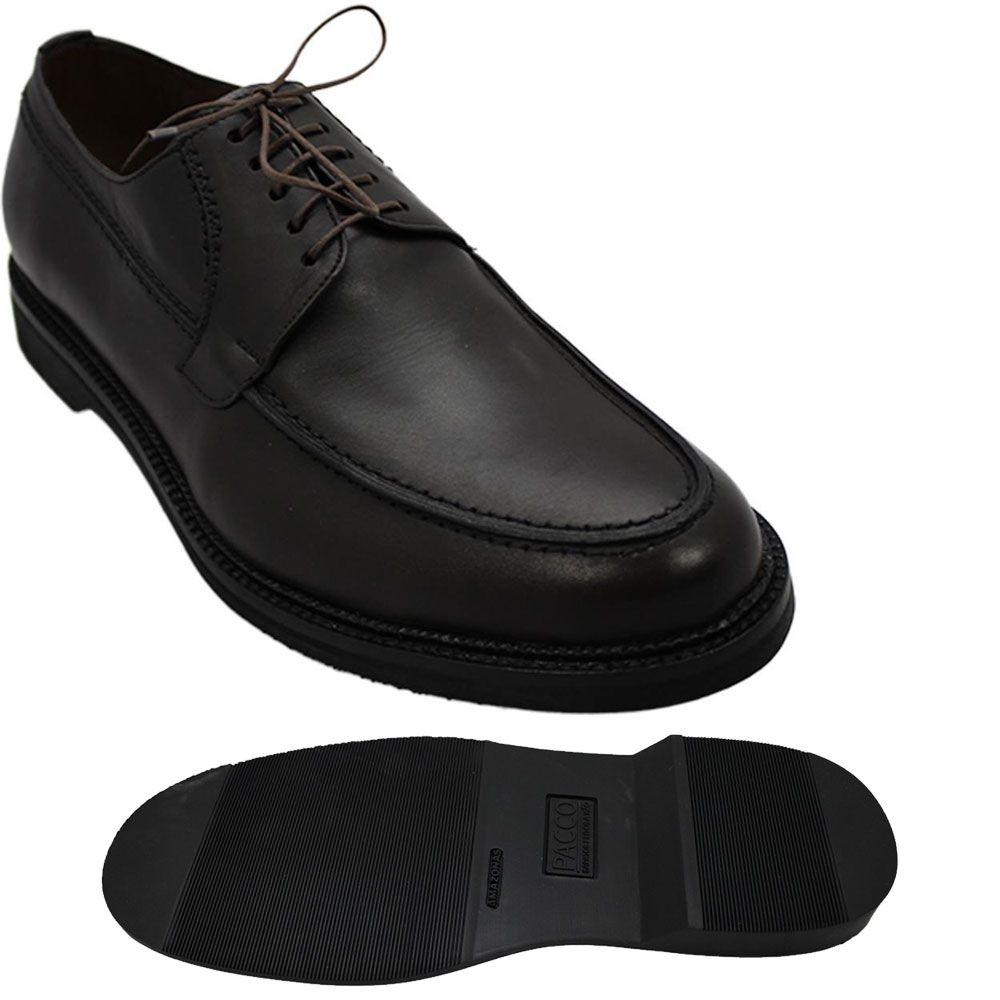 Sapato Masculino Oxford Derby Cor Café Sola Leve 214/900CAF