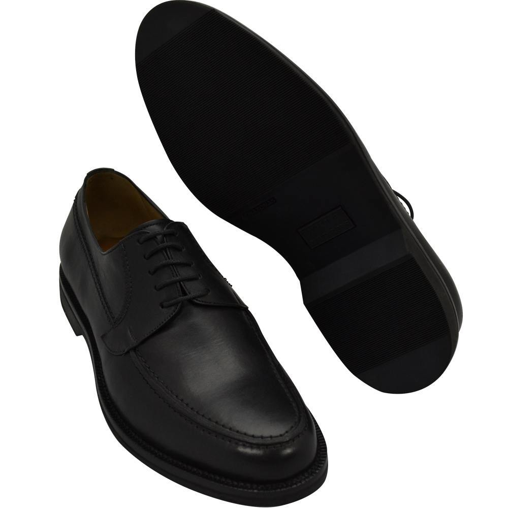 Sapato Masculino Oxford Derby Cor Preta Sola Leve 214/900PRE