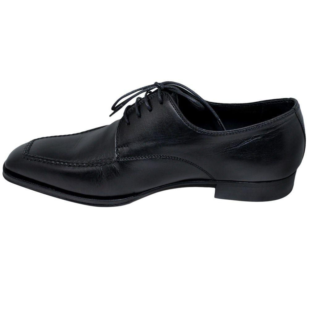 Sapato Masculino Oxford Derby Preto excelente para o dia dia 303GIOVPRE