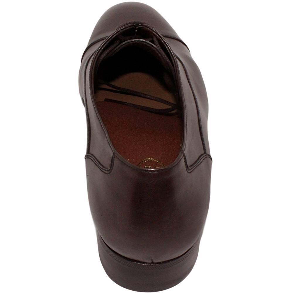 Sapato Masculino Oxford Cap Toe Marrom Café 299CAF Matteo