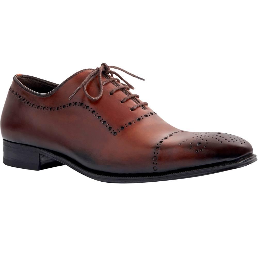 Sapato Masculino Oxford Exclusividade Pacco cor Mogno 4090MOG