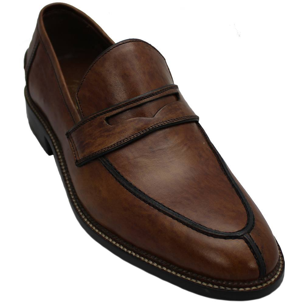 Sapato Masculino Penny Loafer cor Havana 089NCRITA