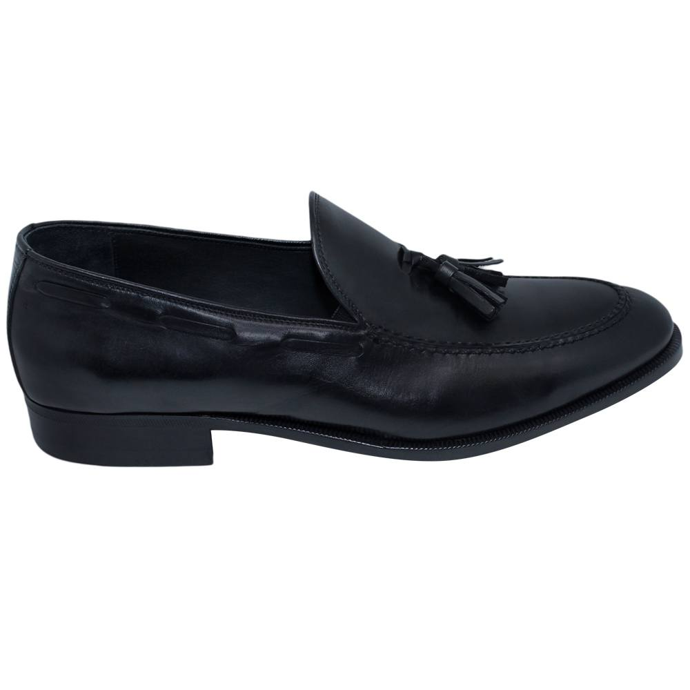 Sapato Masculino Tassel Loafer Preto 019CMPRE