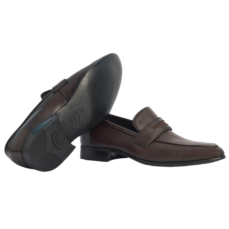 Sapato Masculino Social Confortável Marrom Café 776MCAF Akira