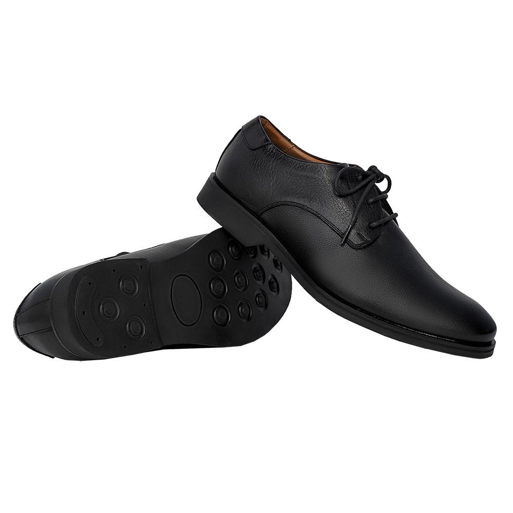 Sapato Masculino Social Derby Solado em Borracha 29751PRE