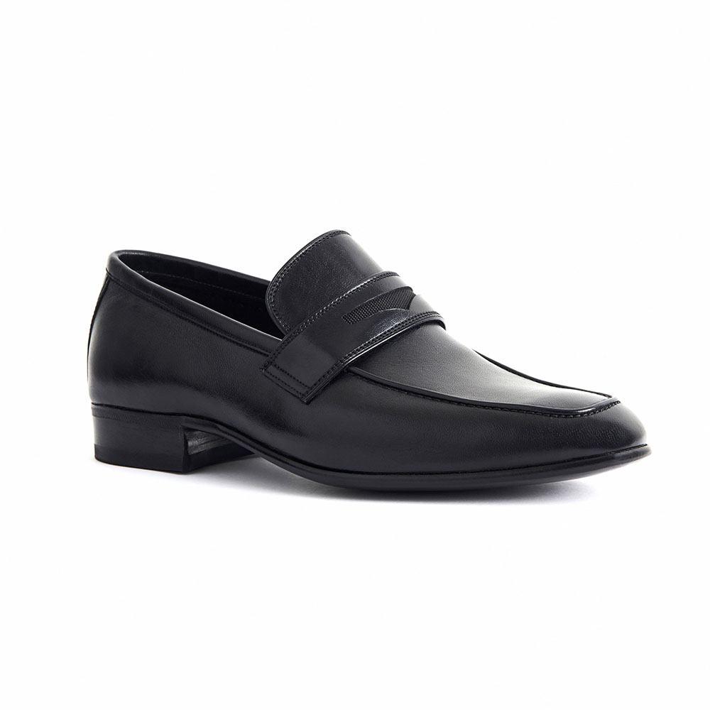 Sapato Masculino Social Confortável cor Preto 776MPRE