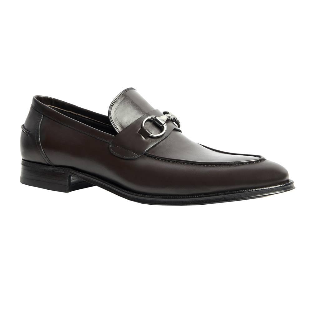 Sapato Masculino Social Horsebit cor Marrom Café 078/601CAF