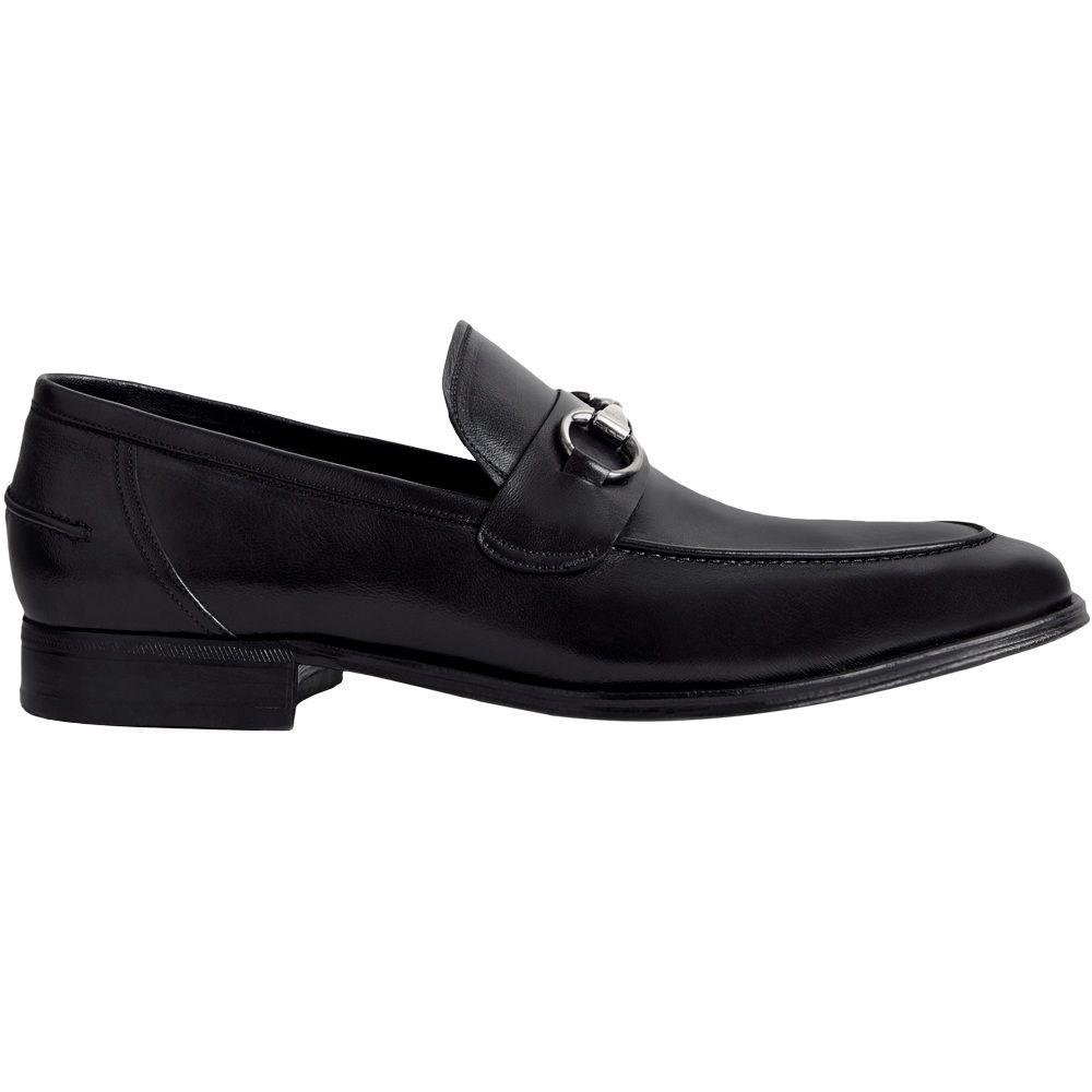 Sapato Masculino Social Loafer Horsebit Cor Preto 078/601PRE
