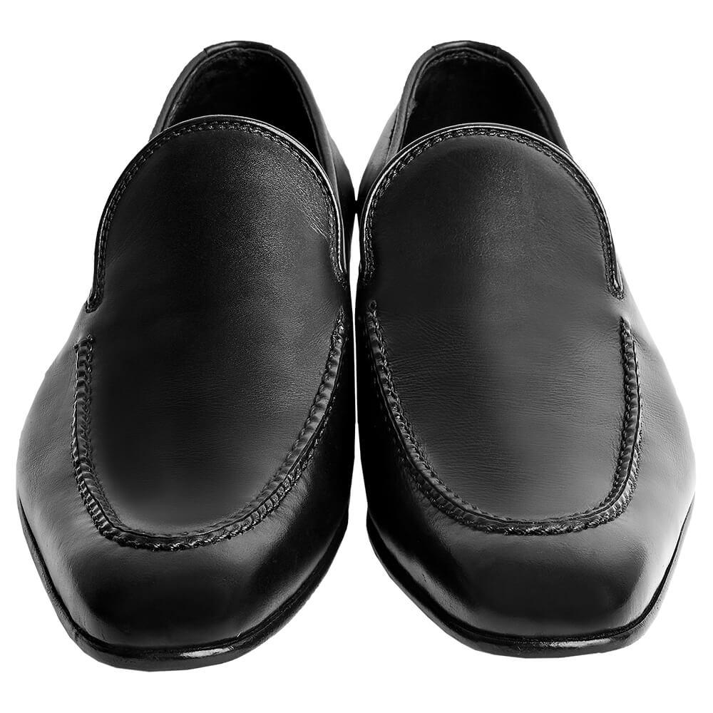 Sapato Masculino Social Loafer Básico cor Preto 1090LCMPRE