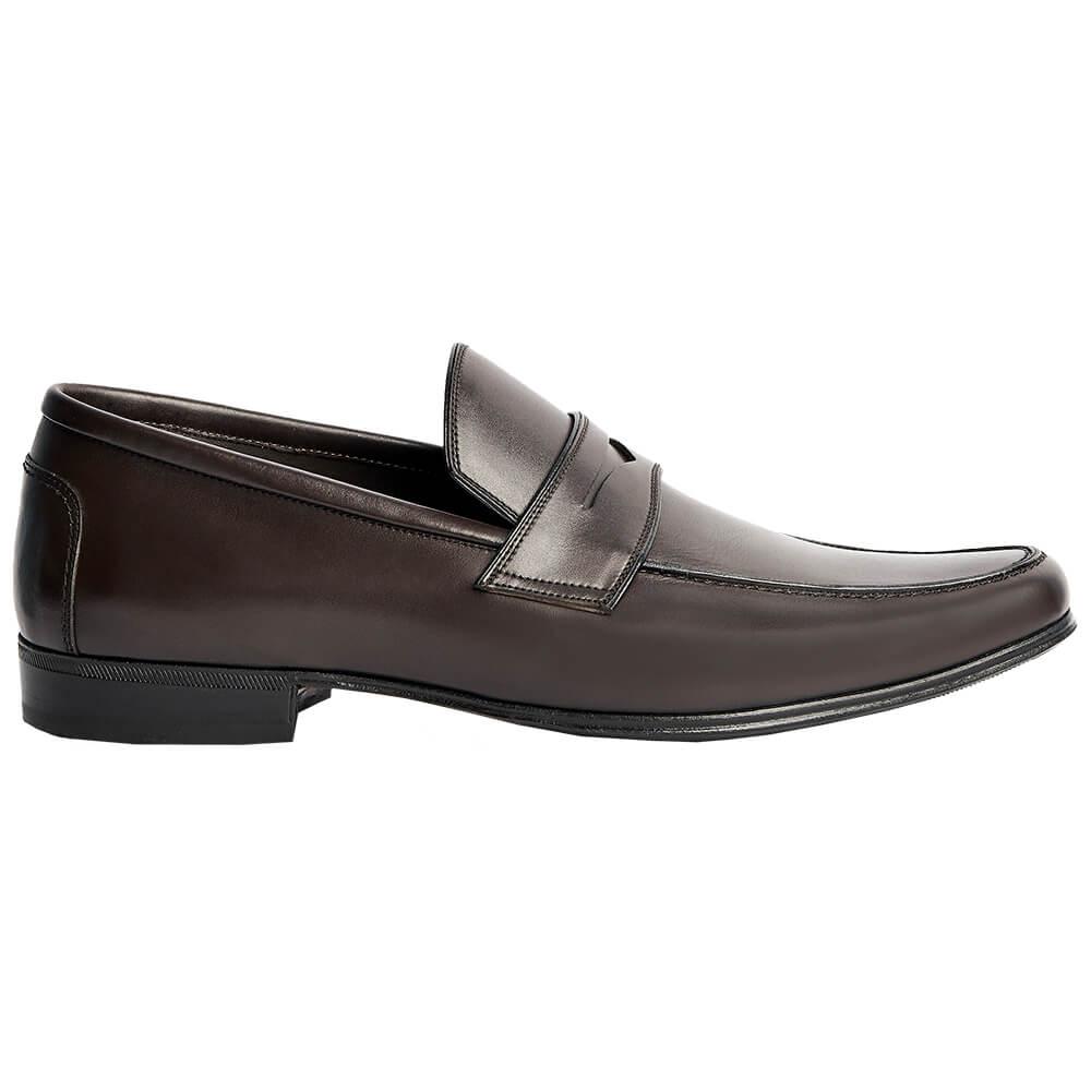 Sapato Masculino Social Loafer cor Marrom Café 111M000CAF