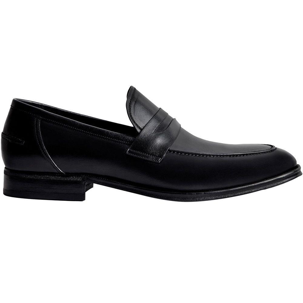 Sapato Masculino Social Loafer cor Preto 078MPRE