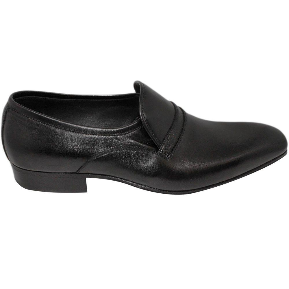 Sapato Masculino Social Preto Bico Alongado 021PRE