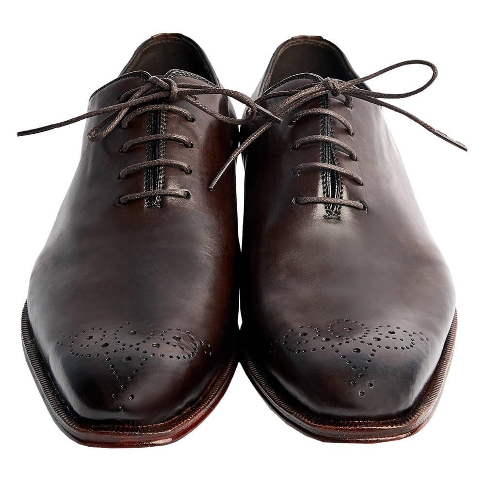 Sapato Masculino Oxford Whoelcut cor Marrom Café 4090FLCAF